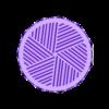Grinder inferior rosca murcielago patrón.v2.STL Télécharger fichier STL BROYEUR D'HERBE - DIY - VAMPIRE HALLOWEEN • Objet pour impression 3D, SnakeCreations