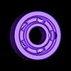 bearing_8_22_7_S.stl Télécharger fichier STL gratuit Palier 608 (acier BB de 4,5 mm) • Objet pour impression 3D, SiberK