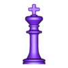 06 rey.STL Download STL file Classical chess • 3D printing object, LuisCrown