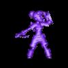 adventure_shieldup.OBJ Download free OBJ file [FREE] Girl Adventurer • 3D printing template, warpentak
