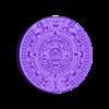 Aztec2.stl Télécharger fichier STL gratuit calendrier aztèque • Objet imprimable en 3D, shuranikishin
