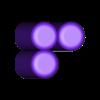 Three_3.stl Download free STL file Odd Numbers and Square Numbers • 3D printable model, LGBU