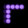SameH_7.stl Download free STL file Odd Numbers and Square Numbers • 3D printable model, LGBU