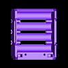 18650_4P_base_V2_Vented.stl Télécharger fichier STL gratuit NESE, le module V2 sans soudure 18650 (VENTED) • Objet pour imprimante 3D, 18650