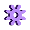 gear_M1375x8.STL Download free STL file party parrot automata • 3D printable design, melonshu
