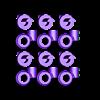 Set_Hinge3.stl Télécharger fichier STL gratuit Hyperprisme triangulaire. • Objet pour imprimante 3D, SiberK