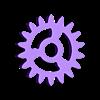 Sun Gear.STL Télécharger fichier STL gratuit Pendentif d'engrenage planétaire/Key Ring • Plan pour impression 3D, HC3DPrints