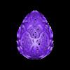 Easter_Egg_10-2020.stl Télécharger fichier STL gratuit Collection d'œufs de Pâques en résine 2 • Plan à imprimer en 3D, ChrisBobo