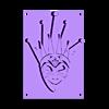 Masque Bori Brejcha v1.stl Download free STL file Boris Brejcha Mask v1 • 3D printing object, La-Volailles