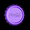 Coca_Cola_Cap_-_Eunny.stl Download free STL file BIG Coca cola cap • 3D printable model, Eunny