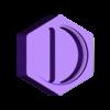 HexaPill - Container 2 sections.stl Download STL file HexaPill - Modular pillbox / pill dispenser • 3D printing design, yozz