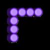 Seven_7.stl Download free STL file Odd Numbers and Square Numbers • 3D printable model, LGBU