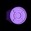 green_lantern_ring.STL Télécharger fichier STL gratuit Bague Lanterne Verte • Modèle à imprimer en 3D, aevafortinhi