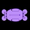 Curved%2BMount_ziptie.stl Download free STL file Zip tie GoPro Curved Mount • 3D printing template, Cerragh