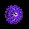 LamparaModerna1.stl Download free STL file Modern Ceiling Lamp • 3D print template, alonsoro767