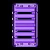 18650_2S3P_base_V2_Vented.stl Télécharger fichier STL gratuit NESE, le module V2 sans soudure 18650 (VENTED) • Objet pour imprimante 3D, 18650