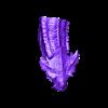 Grymloq_Head.stl Download free 3MF file One-Armed Dino-Jesus & His Pet Tyrannosaur • 3D printing model, EmanG