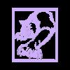 lobo print.STL Télécharger fichier STL gratuit photo de loup • Modèle à imprimer en 3D, TMDs