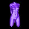Little Caprice 2 - Body with Underwear.stl Télécharger fichier STL Little Caprice Pose 2 • Objet imprimable en 3D, BODY3D