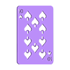 Spades_10_hole.stl Télécharger fichier SCAD gratuit Les cartes à jouer • Objet imprimable en 3D, yvrogne59