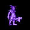 Trunks the Goblin - Double Axes.stl Télécharger fichier STL Trunks the Goblin - 3 Models - 28 mm • Plan pour impression 3D, BODY3D