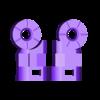 Arm_Left_03_Black.stl Download STL file Heavy Gun Walker • 3D print design, Jwoong