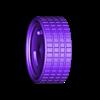 llanta_tres_ranuras.STL Download free STL file 3 groove calloquial rim • 3D printer object, memoretirado