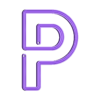 """P_x1.stl Télécharger fichier STL Panneau """"Ouvert"""" EL WIRE • Plan pour imprimante 3D, DiGave"""