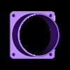 100mm_duct_flange.stl Download free STL file 100mm Duct Flange • 3D printer object, Odrenria