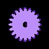Gear_M08_T20_D3.stl Télécharger fichier STL gratuit Kozjavcka ( Козявка ) • Modèle pour impression 3D, SiberK