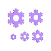 3to7Tree.stl Télécharger fichier STL gratuit Joyeux Noël Professeur Koch ! • Objet à imprimer en 3D, Darkolas