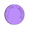 coin_20171225-5539-4ukppc-0.stl Download free STL file MASSAGE Coin (Chip) • Object to 3D print, BellForged