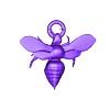 MURDER HORNET PENDANT.stl Download free STL file Murder hORNET PENDANT FOR NECKLACE AND EARINGS • 3D printing model, swivaller