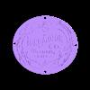 Two_Colour_Classic_Ford_Logo_Base.stl Download free STL file Dual Colour/material Classic Ford Logo multi part • 3D print model, JeenyusPete