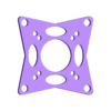 16x16mm_and_20x20mm_board_adapter_01_slicr.stl Download free STL file Brushless beecheese frame (Semi ducted micro brushless frame) • 3D printable model, noctaro