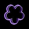 Flor de 5 4cm.stl Download STL file Flower Cutter Set • 3D printable object, juanchininaiara