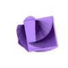 Hollow_Vase.stl Download free STL file Square Vase, Cup, and Bracelet Generator • 3D printing template, Balkhnarb