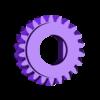 JupiterIdlerOut22T.stl Télécharger fichier SCAD gratuit Planétarium mécanique • Plan pour impression 3D, Zippityboomba