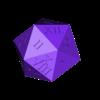 dice_body.stl Télécharger fichier STL gratuit 1d20 de Holding • Design pour imprimante 3D, Yipham