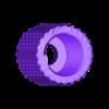 cap_thin_repaired.stl Télécharger fichier STL gratuit Double partie de la mise à niveau de Bowden • Design à imprimer en 3D, yttrium