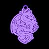 dragon2.stl Télécharger fichier STL gratuit porte-clés dragon • Modèle pour impression 3D, shuranikishin