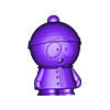 Stan.stl Download free STL file South Park Crew • Template to 3D print, Zortrax
