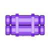 CanistersShort.stl Download free STL file Sci-Fi Scatter Terrain - Canister Stacks (2 Sizes) • 3D printer design, LoreChest