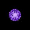 voronoi_queen_3xM10.stl Télécharger fichier STL gratuit 3xM10 : Jeu d'échecs Voronoi avec entrées pour 3 x écrous M10 • Modèle à imprimer en 3D, Numbmond