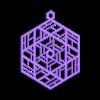 Ornament_B.stl Télécharger fichier OBJ gratuit Quatre ornements inspirés du vitrail • Design pour imprimante 3D, Not3dred