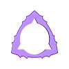 PIRAMIDAL flexipick 1'15 05.stl Download free STL file Triangle-Dent Circle'Piramidal - Electric Guitar Stick & Bass • 3D printer template, carleslluisar