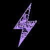 HogwartsWall1.stl Descargar archivo STL Hogwarts through lightning   • Diseño para impresión en 3D, miguelonmex