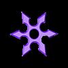 shuriken.obj Télécharger fichier GCODE Shuriken • Plan pour imprimante 3D, Gabbi_Card