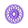 white_center.stl Download STL file BBS RS model • 3D printable template, bedezeu
