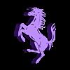 horse.stl Download STL file Prancing horse • 3D print object, eAgent
